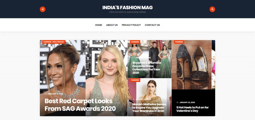 India's Fashion Mag