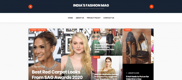 Indias Fashion Mag