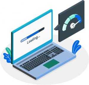 website loading speed