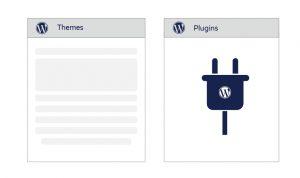 Extensive Range of Themes & Plugins